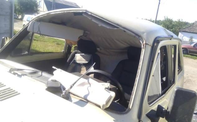 ВХарьковской области взорвалась машина
