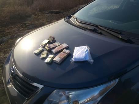 СБУ перехватила два авто с 1,4 млн грн на пути к террористам ДНР