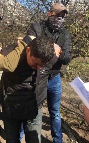 В Киеве на взятке в 50 тыс грн задержаны два сотрудника угрозыска