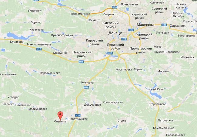 В 50 км от Донецка сосредоточена ударная группа боевиков - Тымчук