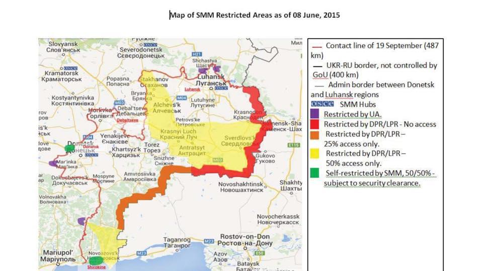 Украина в Париже представила факты нарушений со стороны РФ: фото