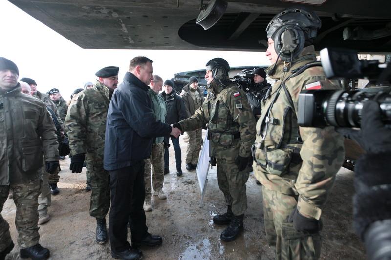 ВПольше начались польско-американские военные учения