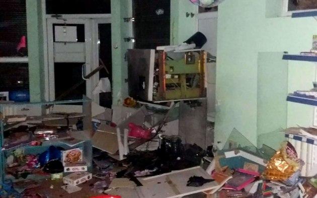 УХаркові підірвали і пограбували банкомат