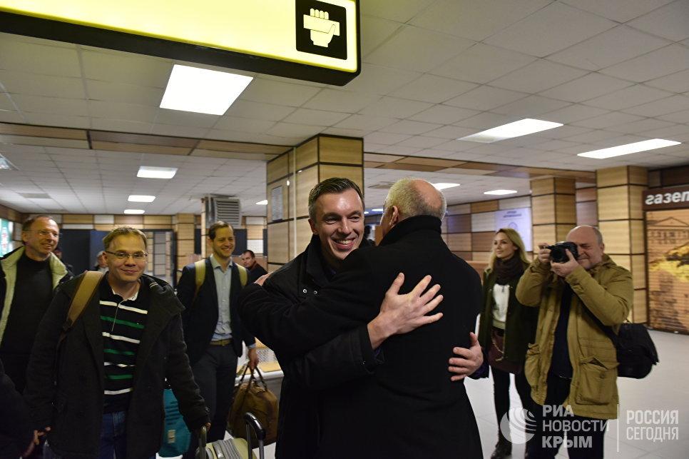 В оккупированный Крым приехали депутаты-правопопулисты из ФРГ