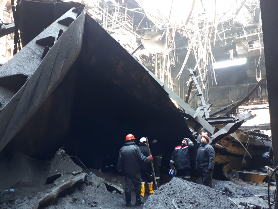 На крупнейшем меткомбинате Украины обрушилась крыша: есть жертвы