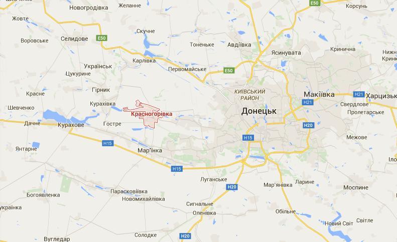 Террористы из минометов обстреляли Красногоровку - штаб АТО