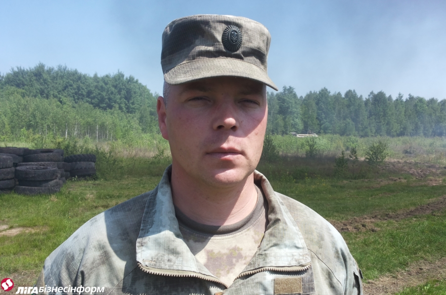 Михаил Забродский: Надо любить армию, чтобы стать профессионалом