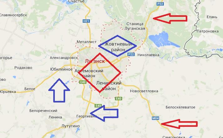 Вторжение: Москва пытается помешать освобождению Донбасса
