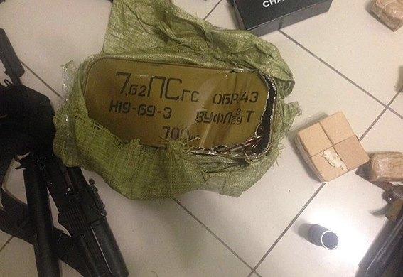 В квартире участника событий в Шегинях нашли оружие - полиция