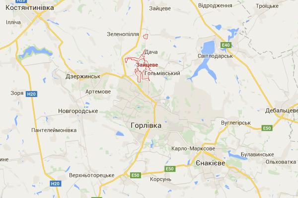 Под Горловкой произошел полуторачасовой бой с ДРГ оккупантов