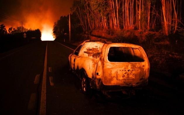 Пожары вПортугалии забрали жизни практически 60 человек
