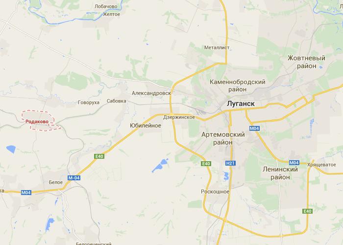 Силы АТО продолжают зачистку населенных пунктов Донбасса