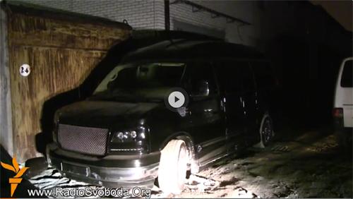 В Ровно  видели авто, якобы принадлежащее Януковичу-младшему