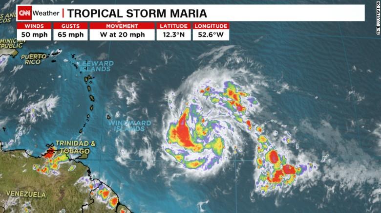 Над пострадавшими от Ирмы островами нависла угроза нового урагана