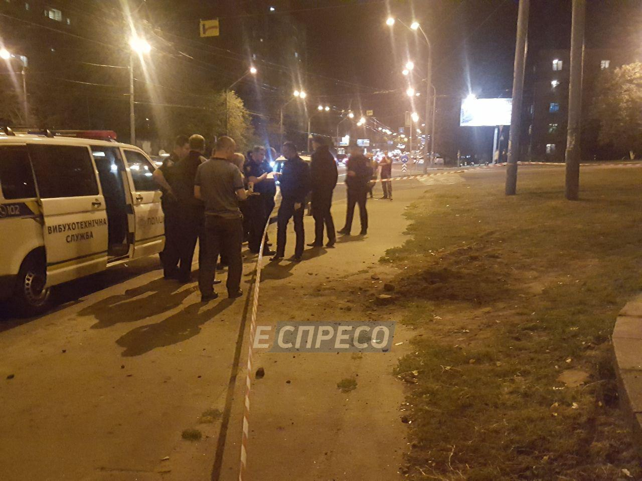 В Киеве на улице Елены Телиги произошел взрыв: фото