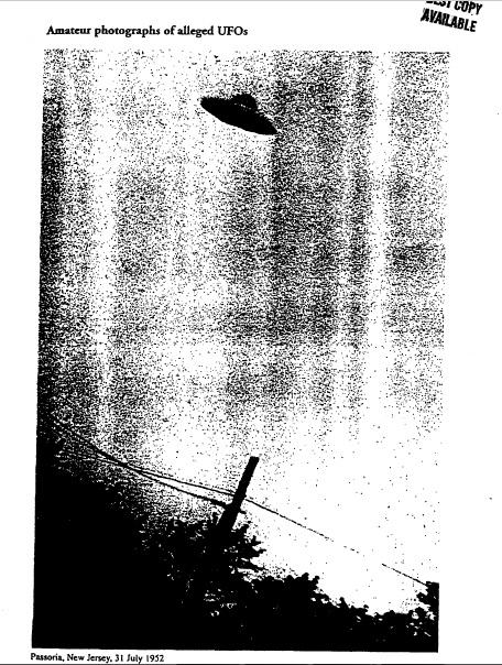 Документы ЦРУ: США проводили секретные проекты для изучения НЛО