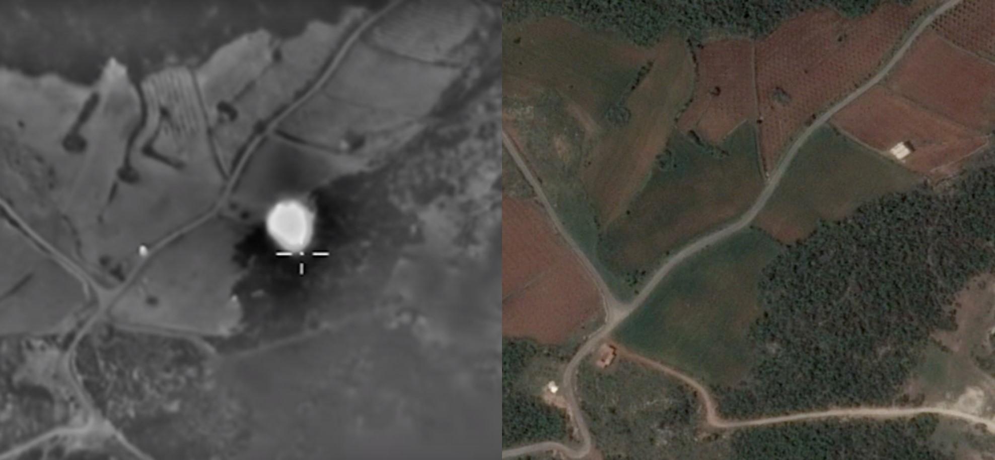 Bellingcat выяснила, кого на самом деле бомбит РФ в Сирии: карта