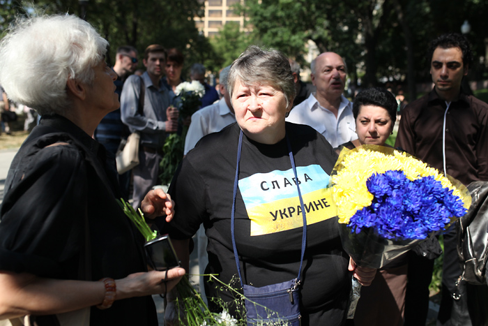 В Москве прощаются с Валерией Новодворской