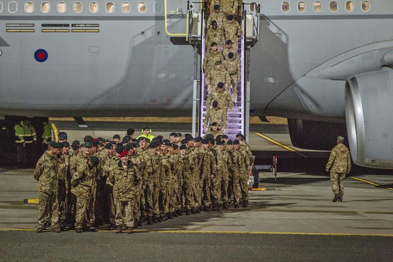 В Эстонию прибыли первые военнослужащие НАТО