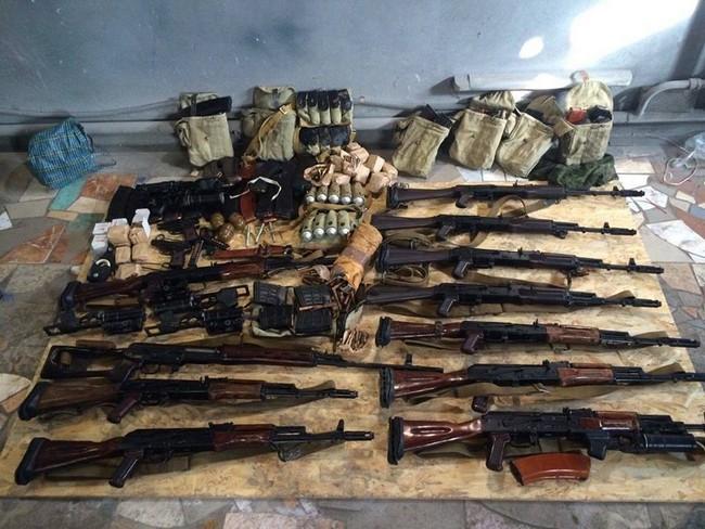 Задержаны подозреваемые в совершении харьковских терактов: фото