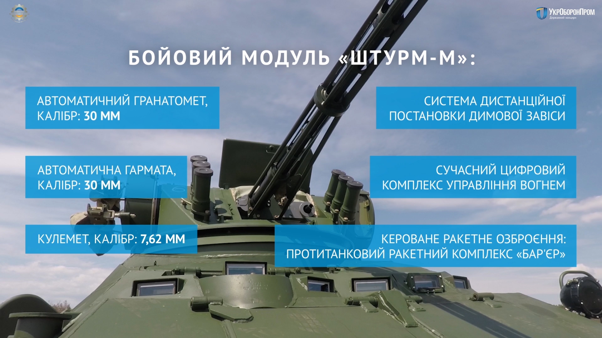 Новая партия БТР-3ДА передана Нацгвардии Украины