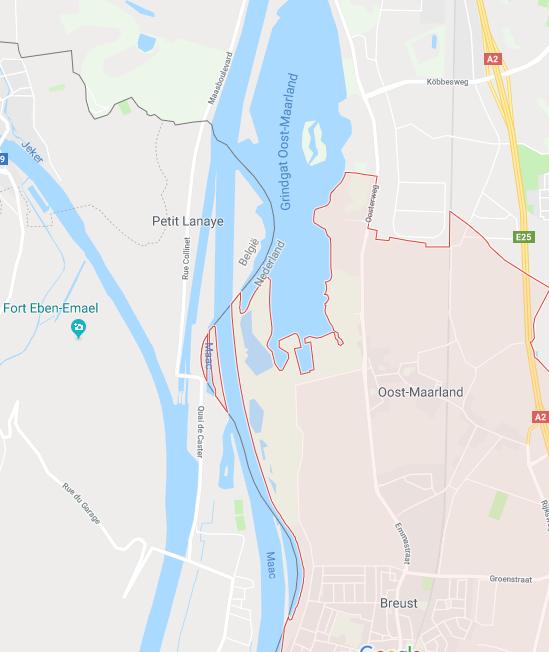 Бельгия иНидерланды обменялись территориями