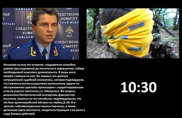 Адвокат Савченко опубликовал документы, подтверждающие ее алиби