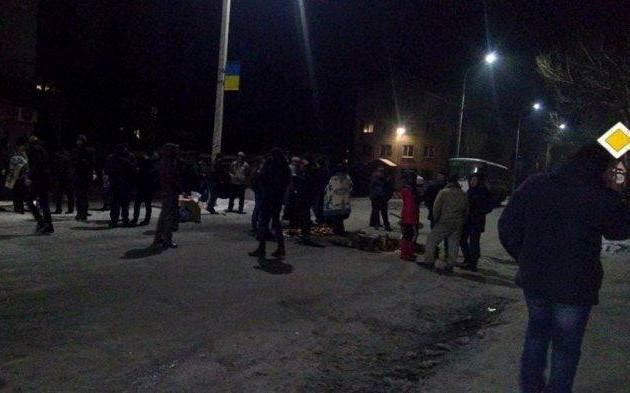 Горняки нескольких шахт проводят акции протеста: фото
