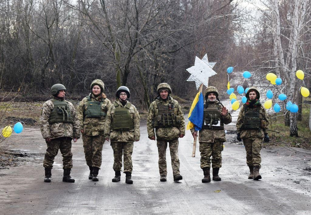 Рождество в АТО: как отмечают украинские военные - фото, видео