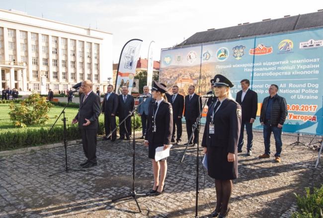 На Закарпатье выбрали лучшую служебную собаку Украины