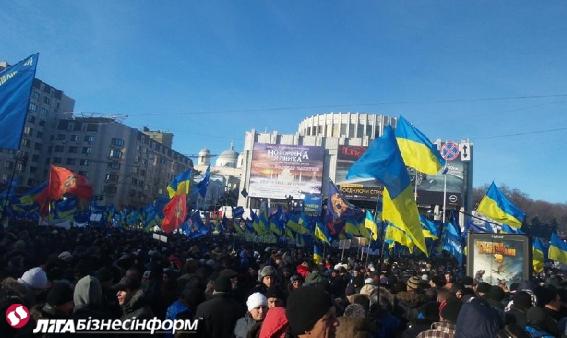 Евромайдан, день 24-й: хроника