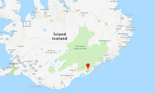 Активность крупнейшего действующего вулкана Исландии возросла до«желтого» уровня