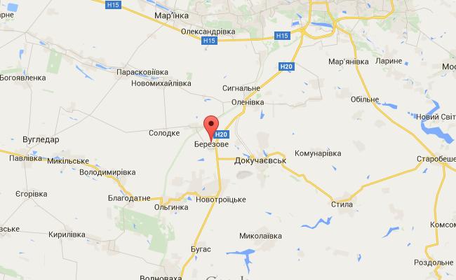 В районе Марьинки задержаны диверсанты ДНР, у одного - паспорт РФ