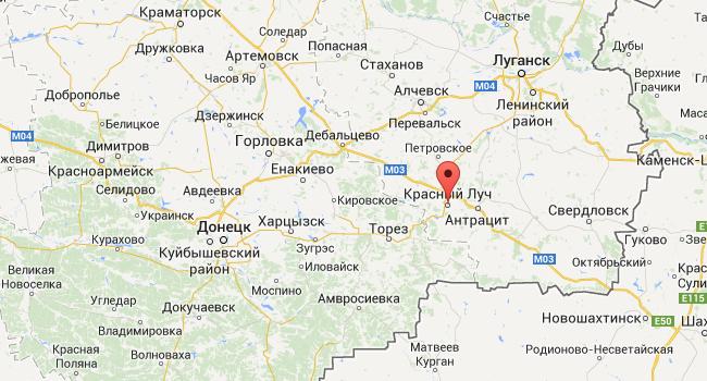 В Красном Луче военные РФ требуют место для захоронения погибших