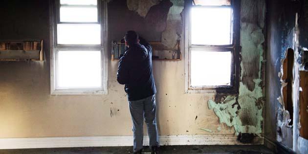 В Канаде неизвестные подожгли мечеть: фото