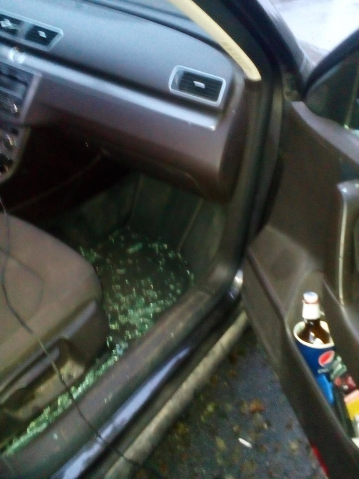 Под Киевом взорвали гранату возле машины активиста: фото