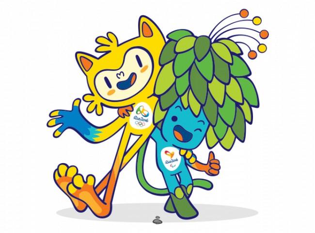 Талисманы Олимпиады и Паралимпиады 2016 года представили в Рио