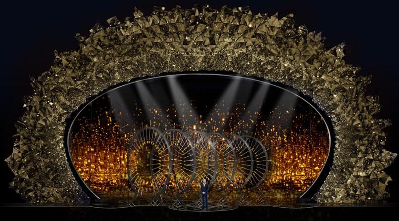 Оскар-2018: сцену церемонии украсили 45 млн камней Swarowski