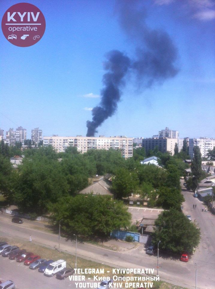 В Днепровском районе столицы прогремел взрыв: видео