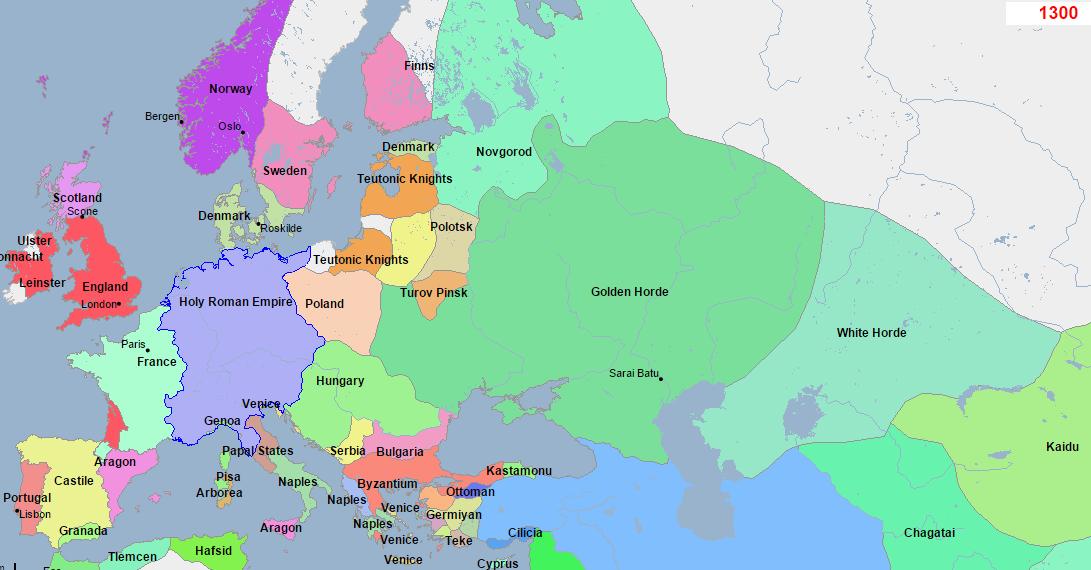 Интерактивная карта мира за 5000 лет: как менялись границы