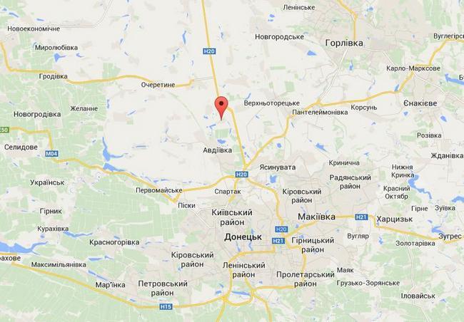 Силы АТО нанесли удар по лагерю боевиков недалеко от Донецка