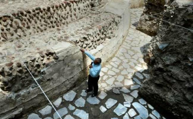 В Мексике археологи нашли храм ацтеков и стадион для игры с мячом