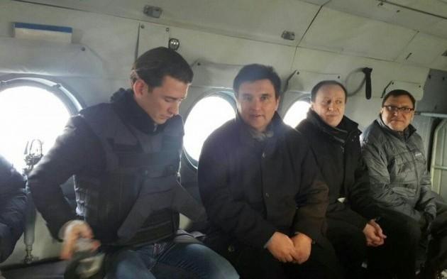 Климкин иновый руководитель ОБСЕ посетят Донецкую область