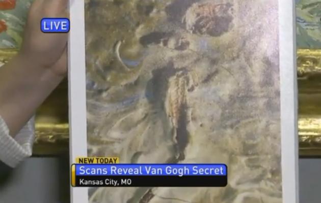 В картине Ван Гога нашли мертвого кузнечика