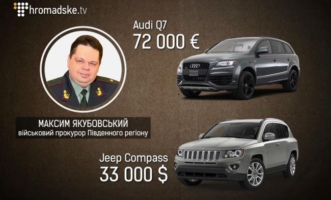 Журналисты показали элитный автопарк военного прокурора: видео