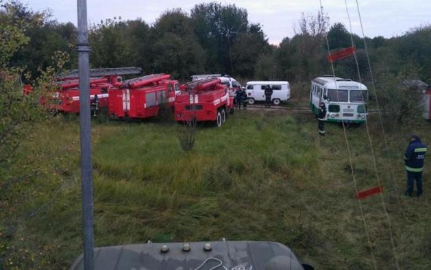 Из зоны пожара в Калиновке эвакуировали 28 тысяч человек: фото