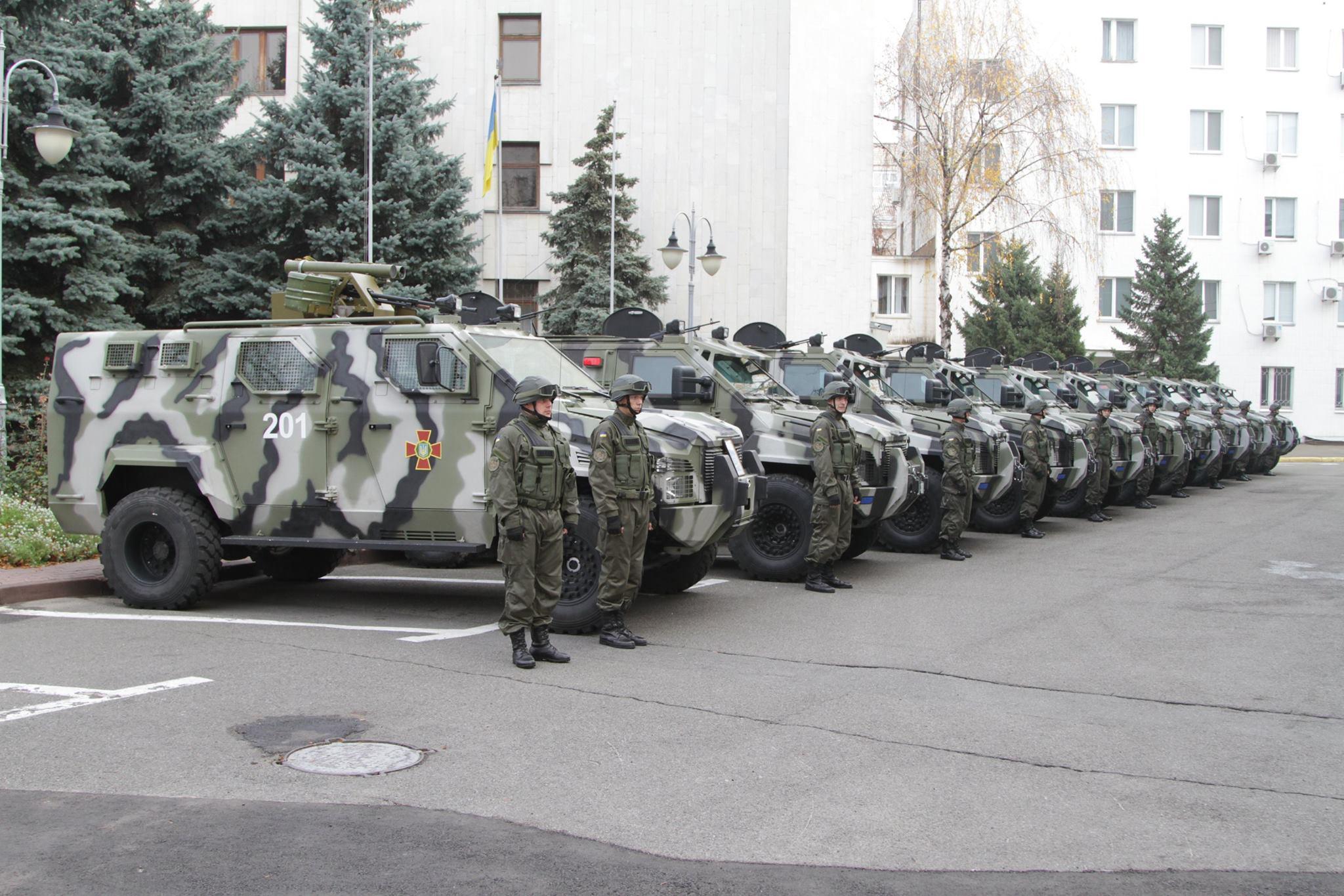 Для Нацгвардии прибыла партия бронеавтомобилей КрАЗ Спартан: фото