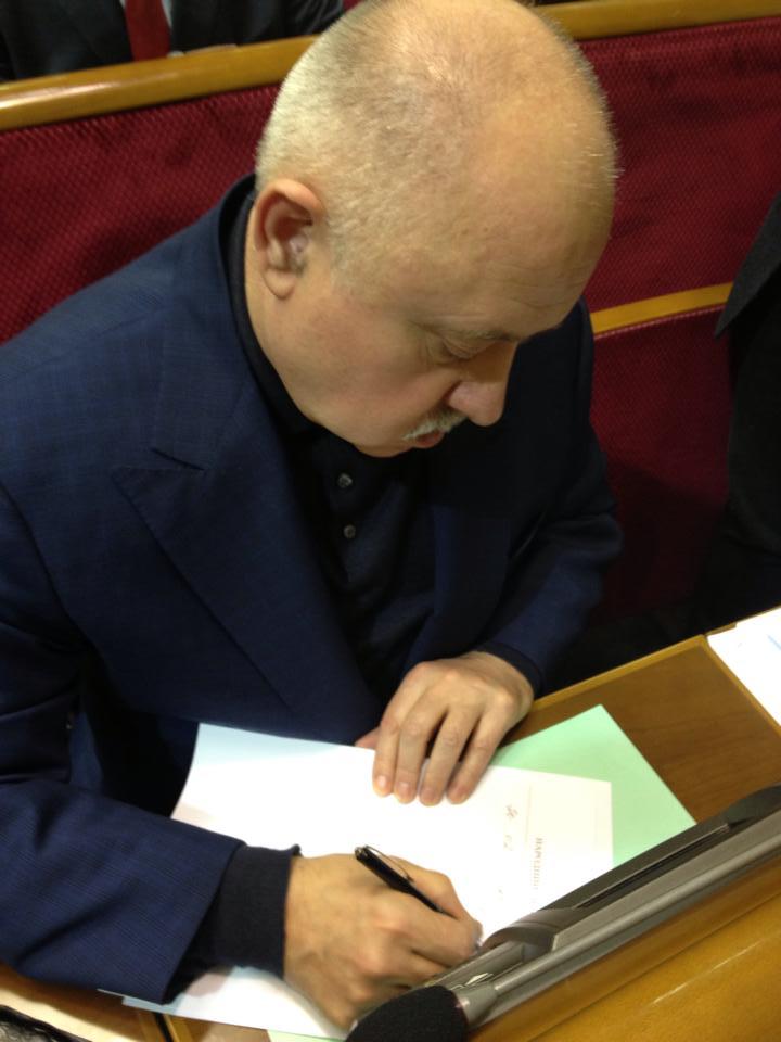 Фракцию Партии регионов в Раде покидает генерал Развадовский