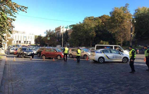 Центр столицы Украины перекрыли из-за акции против медреформы уРады