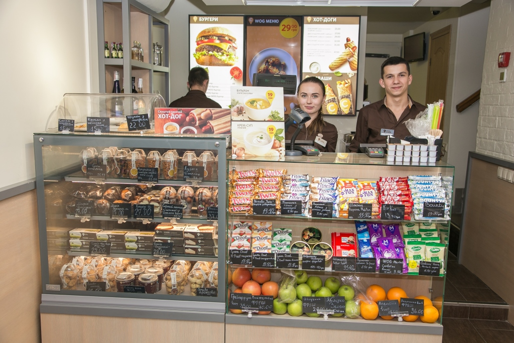 WOG CAFE открылось возле м. Олимпийская